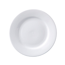 Superwhite Winged Plate 23CM Pack 12