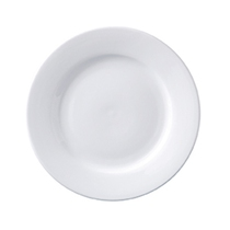 Superwhite Winged Plate 17CM Pack 12