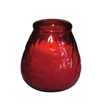 Lowboy Candle Red