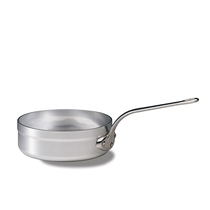Heavy Duty Aluminium Saute Pan with Long Handle 3.6 Litre