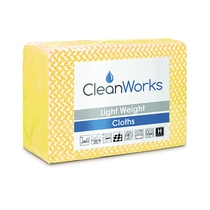 CleanWorks Lightweight Hygiene Cloth Yellow