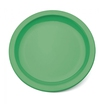 Thin Rim Plate Grey Green 23CM