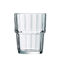 Norvege Stacking Tumbler Clear 20CL