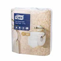 TORK Extra Soft Conventional Toilet Tissue Roll