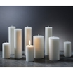 Pillar Candle White 60 Hour