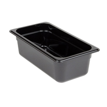 Camwear Food Pan 1/3 Black 100MM