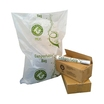 CleanWorks Compostable Refuse Sack Clear 26x44
